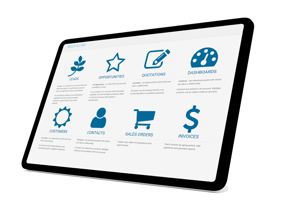 CorporateStack CRM Introduction Page
