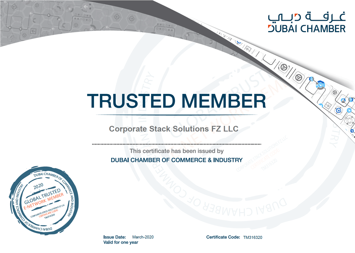 CorporateStack Trusted Member